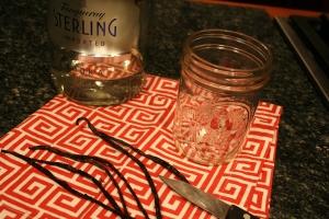 Making vanilla bean extract is super easy!